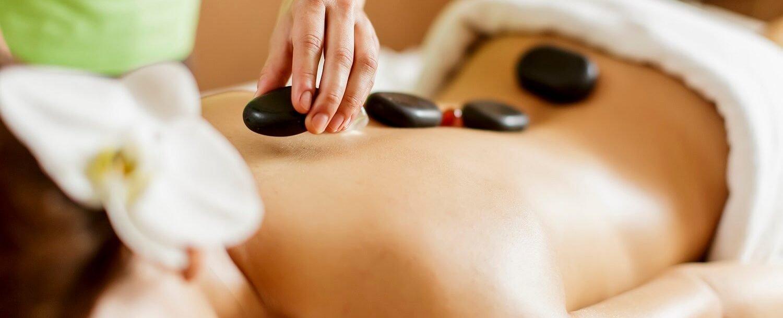 hot rock spa treatment