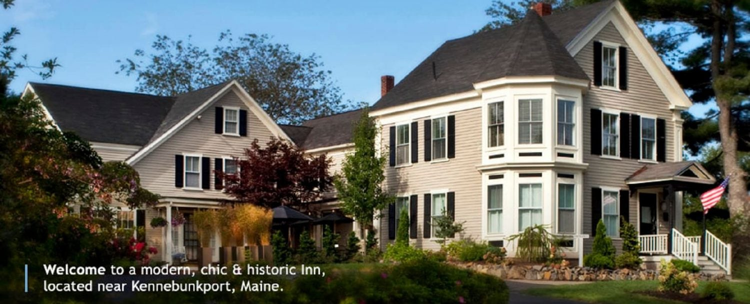 Welcome to a modern, chic & historic inn, located near Kennebunkport, Maine