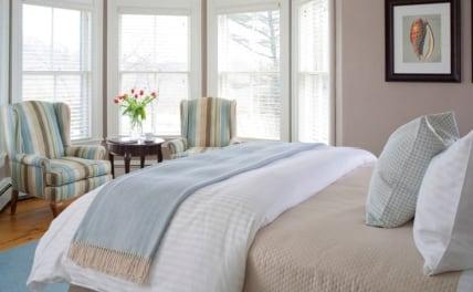 Bedroom at Inn at English Meadows