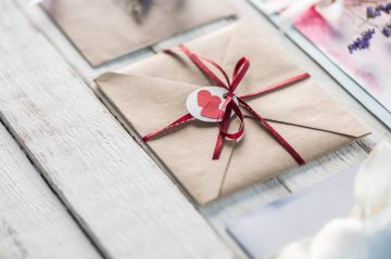 valentines day gift card envelope